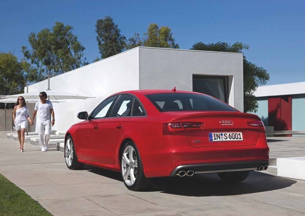 Audi S6/Standaufnahme