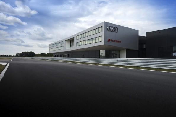 Audi eroeffnet Hightech-Areal in Neuburg an der Donau