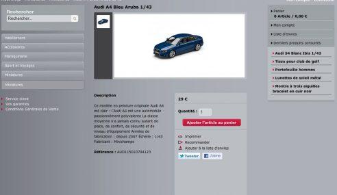 Habillez vous pour l'hiver avec Audi