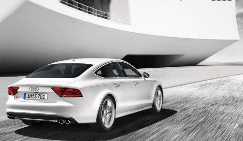 Audi au super bowl 2012 : une belle S7 et des vampires …
