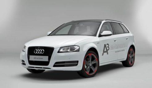 Audi débute un projet pilote pour l'A3 e-tron aux USA