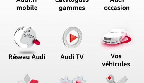 Audi lance une nouvelle application iPhone pour les conducteurs et les fans