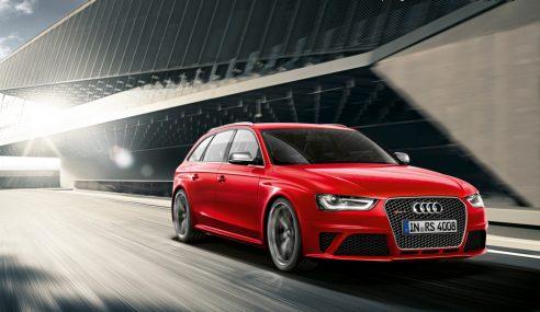 L'Audi A4 fête ses 20 ans de production à Ingolstadt