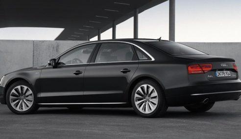 L'Audi A8 hybride en video