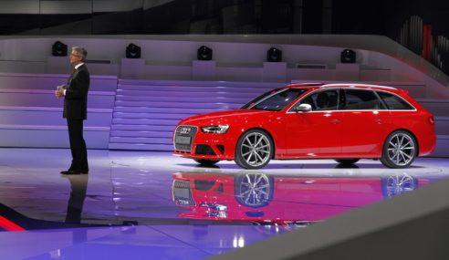 Audi présente la nouvelle bombe RS4 Avant