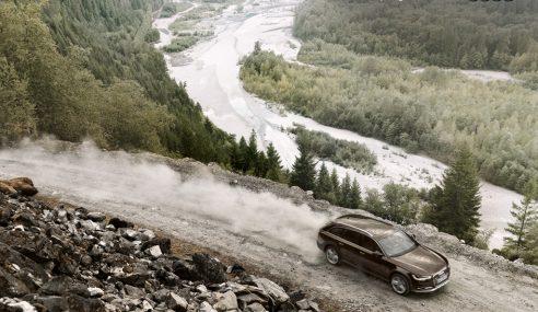 La nouvelle A6 allroad sur les terres islandaises