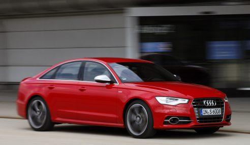 3,7 secondes, la puissance de l'Audi S6