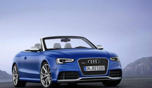 Une belle expérience sonore à bord de l'Audi RS5 cabriolet