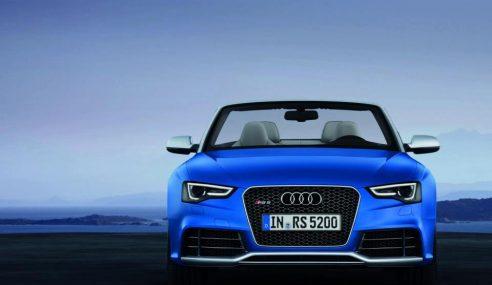 A la découverte de la nouvelle Audi RS5 cabriolet (photos)