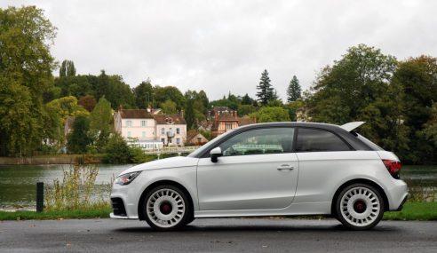 Audi A1 quattro et Audi TT RS Plus : quattro challenge #Audi2E
