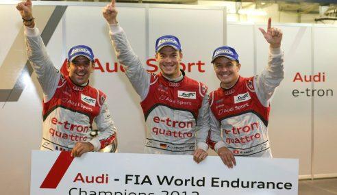 Audi signe la pôle position avec la e-tron quattro au Mans