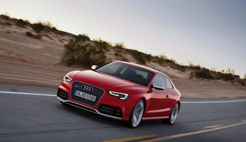 Essai de l'Audi RS5 dans les Alpes du sud