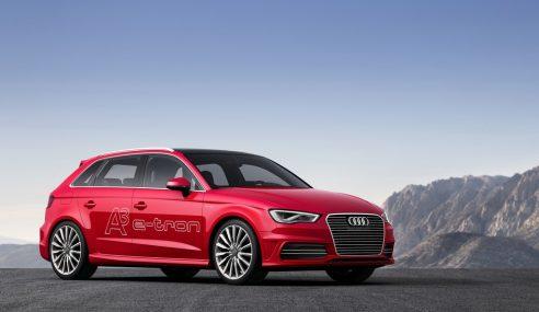 Audi a électrisé Paris hier soir avec #e_tron