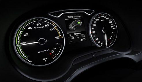 Mondial de l'automobile : découverte de l'A3 e-tron