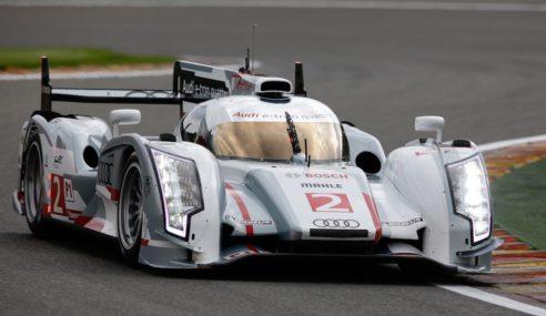 Audi domine les premières séances d'essais au Mans