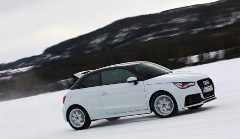 L'exclusive A1 quattro en vidéo sur neige