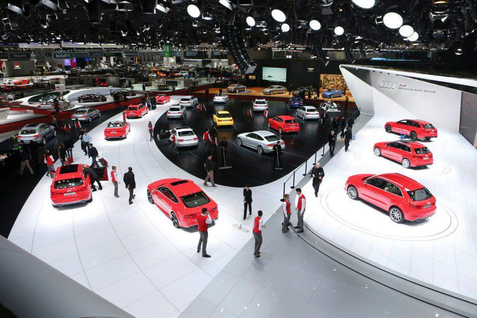 Audi au salon de Genève : une pluie de nouveautés
