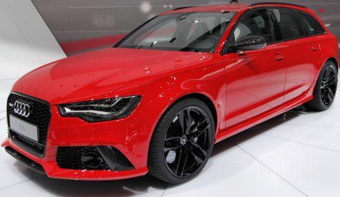 L'Audi RS6 Avant dynamique pilotée par Pascal Fabre