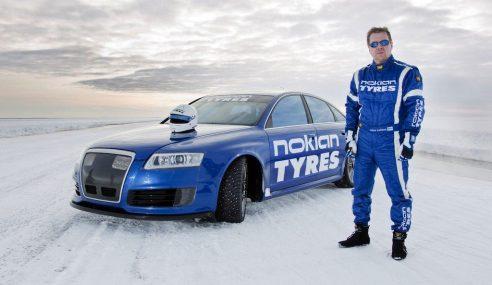 L'Audi RS6 détient le record de vitesse sur glace