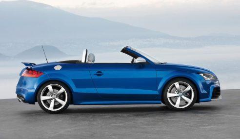 Un essai de l'Audi TT RS Plus roadster