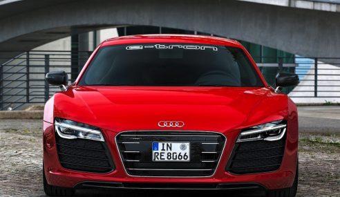 L'Audi R8 e-tron est la voiture électrique la plus rapide au Nurburgring