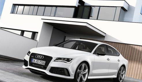 Audi présente la nouvelle RS7 au salon de Detroit : 560 chevaux et un style démoniaque