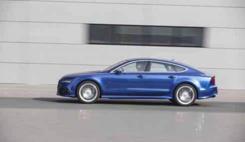 La puissante Audi RS7 dans une vidéo dynamique
