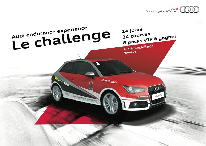Visuel Audi2e - LE CHALLENGE
