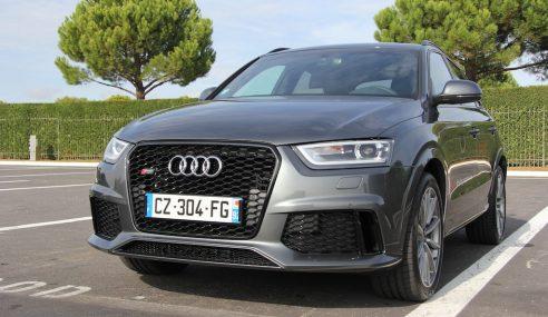 Prise en main – Audi RSQ3 #Audi2E