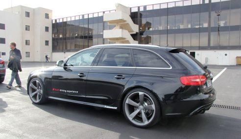 Prise en main – Audi RS4 avant #Audi2E