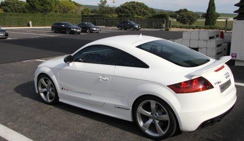 Audi dévoile le coupé TT RS Plus