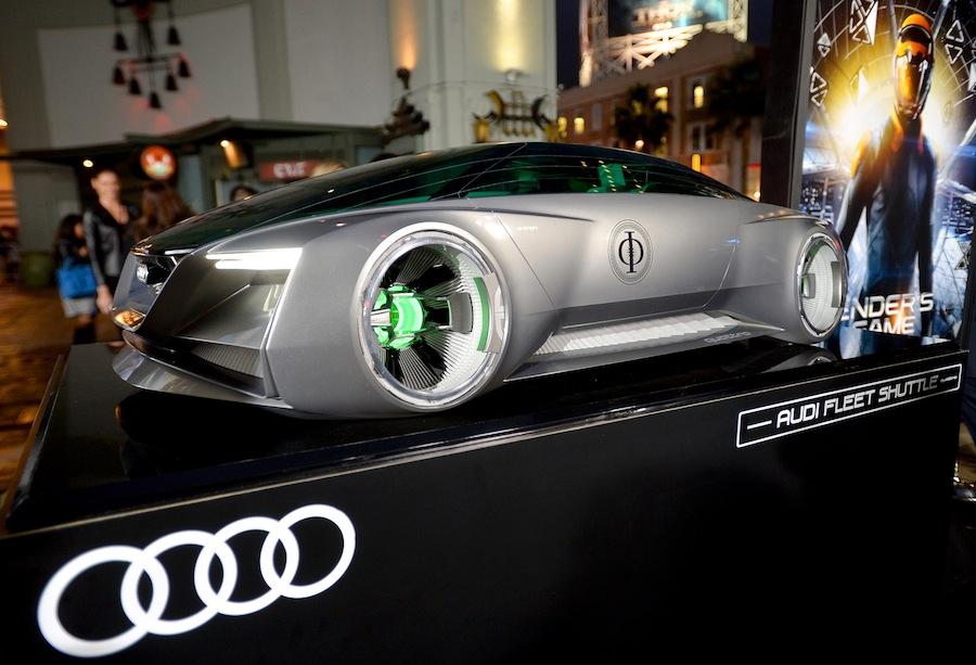 """Audi imagine la voiture du futur pour le film """"Enders game"""""""