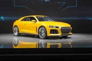 Audi auf der 65. Internationalen Automobil-Ausstellung in Frankfurt am Main