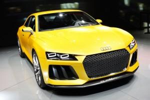 Audi sport quattro concept Frankfurt 2013