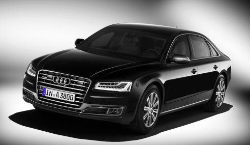 Une Audi pour les occasions spéciales : l'A8 L security