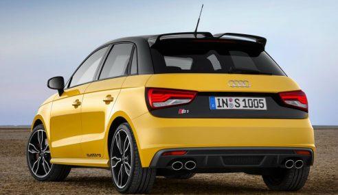 Audi inaugure la bombe S1 quattro #AudiS1_reveal