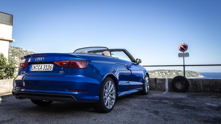 Nouvelle Audi A3 Cabriolet : décapotable dynamique