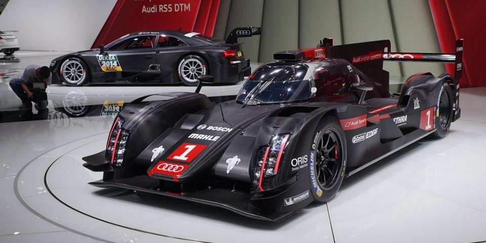 La nouvelle R18 e-tron quattro est homologuée pour la saison 2014