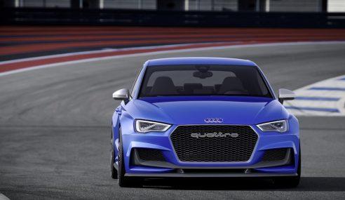 Audi A3 clubsport quattro concept : un avant-goût de RS3