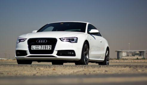 Un essai de l'Audi A5 restylée