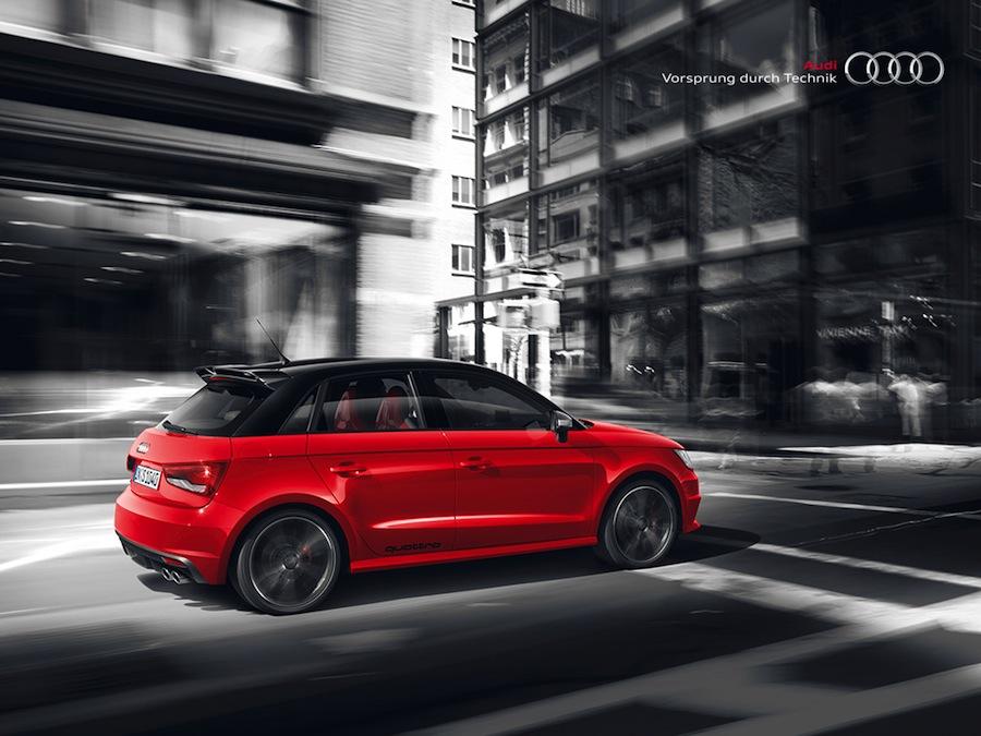 Retour sur la bombe Audi S1 quattro