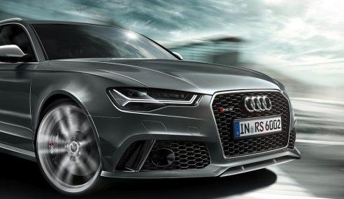 Audi RS6 Avant restylée : premières images dynamiques