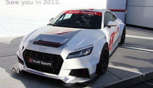 Audi TTS vs Audi TT Cup – Un lien de parenté évident