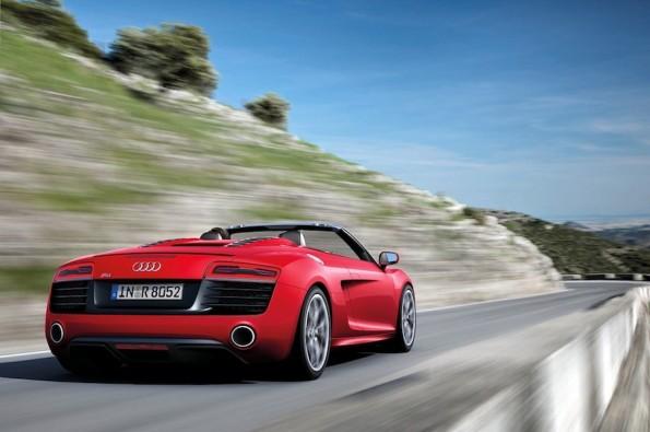 Audi R8 Spyder V10/Fahraufnahme