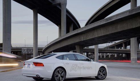 Audi A7 sportback h-tron : démonstration d'une nouvelle mobilité