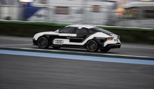 La surprenante RS7 Piloted Driving à l'entraînement