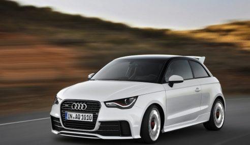 Audi A1 quattro : une idée folle mais pleine de bon sens
