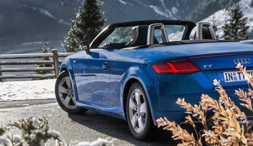 Le superbe Audi TT roadster à l'essai