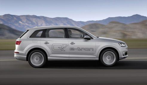 Audi Q7 e-tron, le SUV pour profiter de la nature