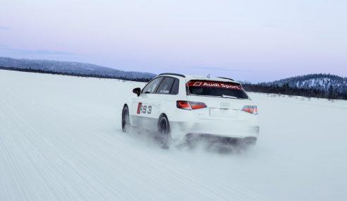 Audi RS3, héritière des victoires en groupe B